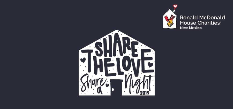 SHARE THE LOVE, SHARE A NIGHT 2019
