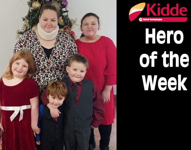 Kidde Hero of the Week: Grace Roy