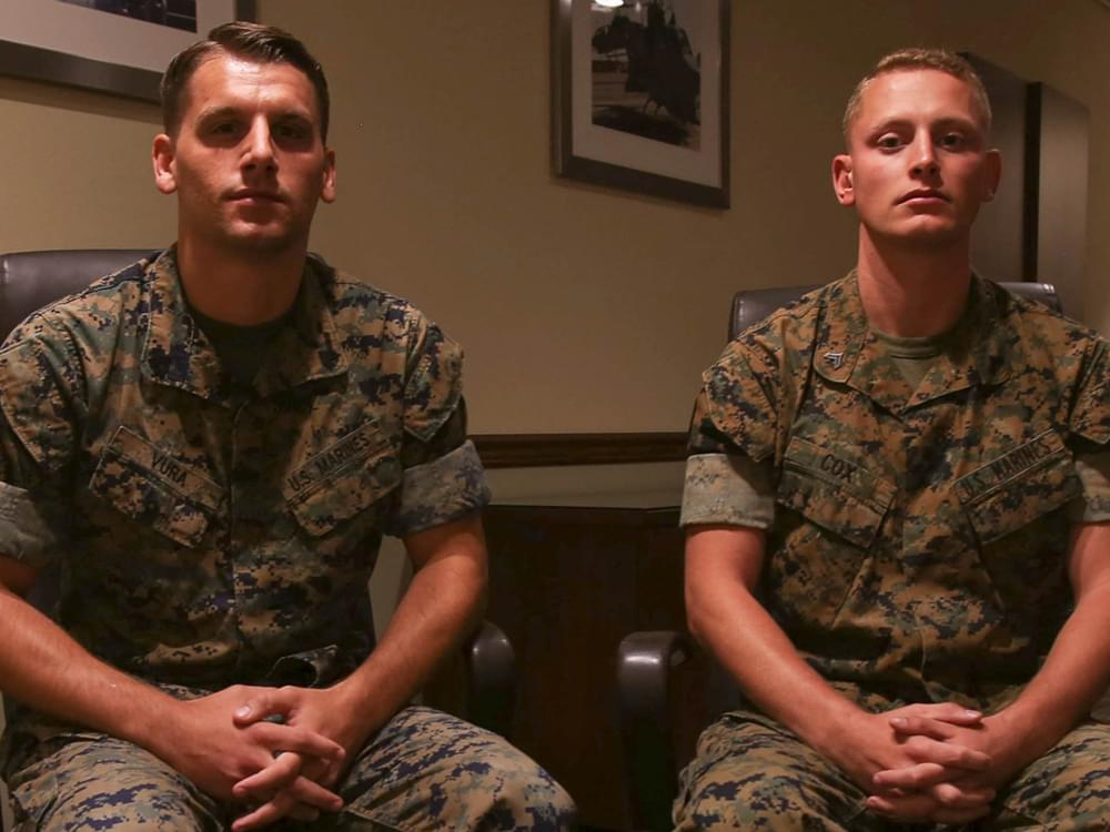 Two Marines Receive Top Non-Combat Honor for Heroism at Route 91 Harvest Festival