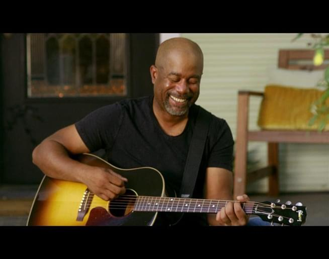"""The Song Remembers When: Darius Rucker – """"For The First Time"""""""