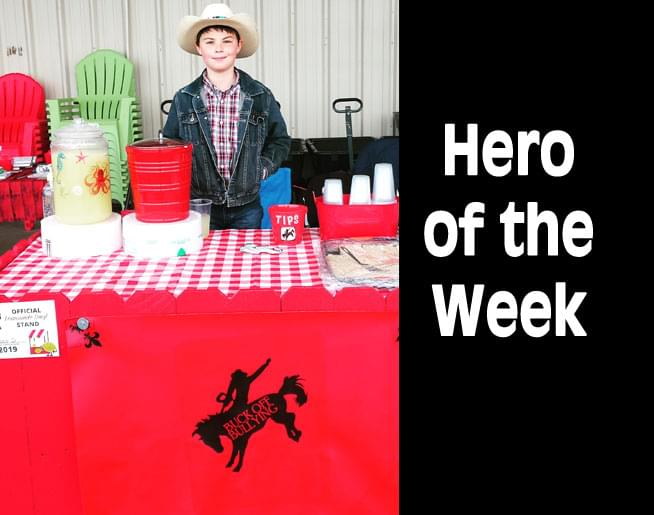 Hero of the Week: Boone Donley
