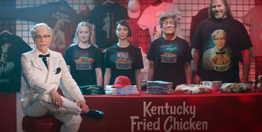 All of the Colonel Reba Commercials So Far [WATCH]