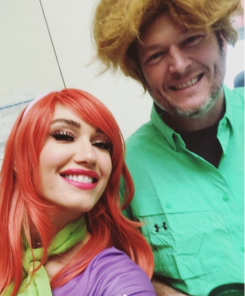 Blake Shelton as Shaggy