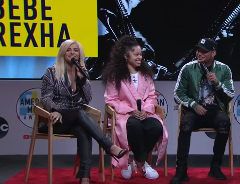 Kane Brown and Bebe Rexha's Awkward AMA Moment