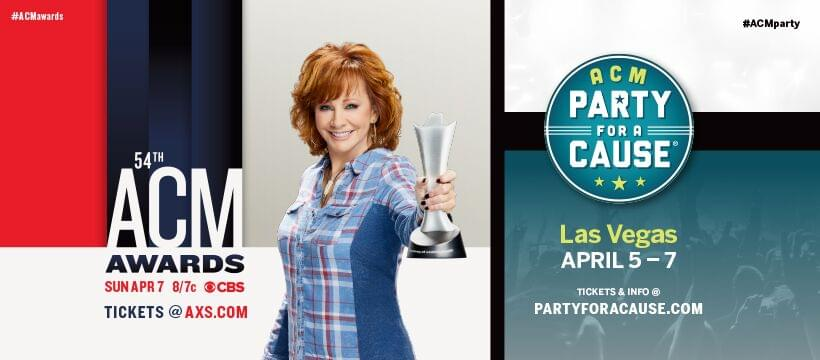 Win a VIP Trip to the 54th Academy of Country Music Awards and ACM Party for a Cause