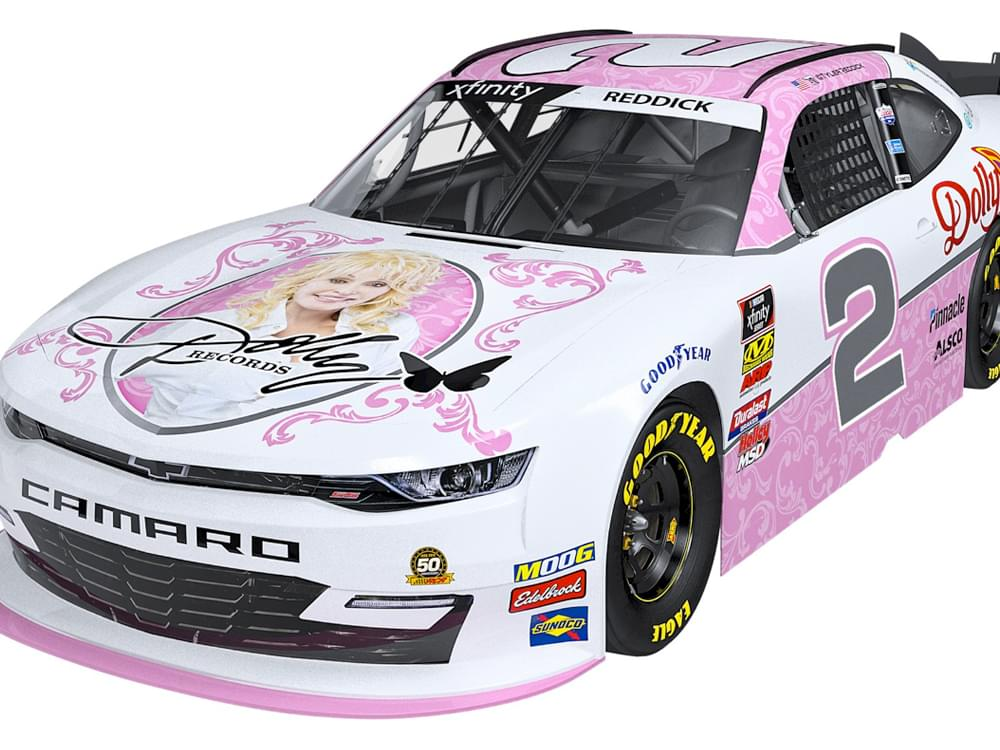 Dolly Parton NASCAR Camaro to Debut at Bristol Motor Speedway