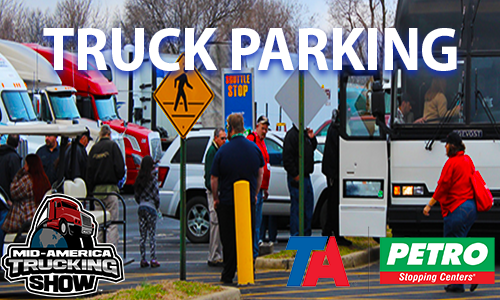 FREE TRUCK PARKING at MATS 2018 Courtesy of TA-Petro