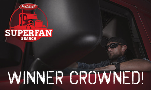 Peterbilt Celebrates SuperFan Finalist