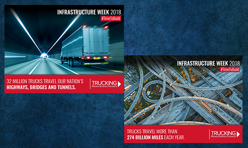 Trucking Moves America Forward Advocates for Infrastructure Investments During Infrastructure Week