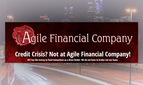 Looking to get into your own Truck? Agile Financial Has you Covered!