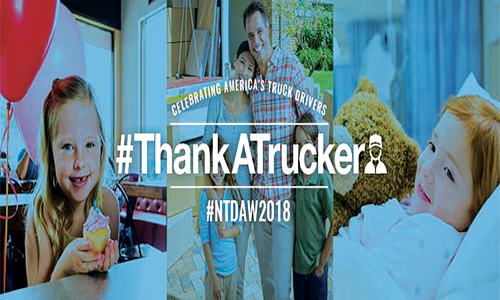 Trucking Moves America Forward Celebrates America's Truck Drivers During National Truck Driver Appreciation Week
