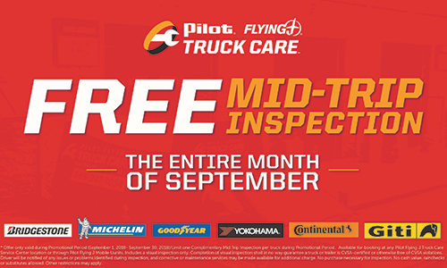 Pilot Flying J Celebrates Professional Drivers, Promotes Industry Awareness for National Driver Appreciation Week