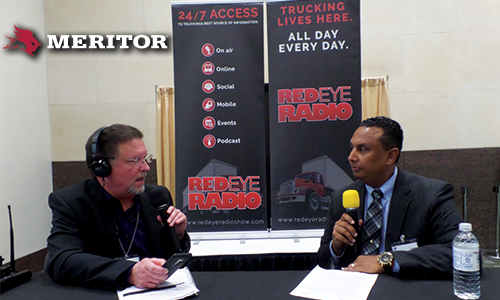 James Taylor, VP of Rear Drivetrain for Meritor, joined Eric at the 2018 ATA MC&E