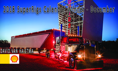 December – Shell Rotella SuperRigs Calendar Winner – David Van Haitsma