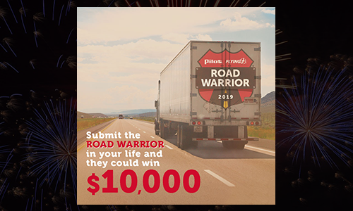 Nominations Open for Pilot Flying J's Annual Road Warrior Contest