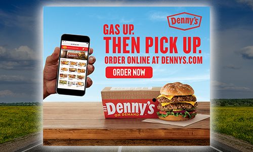Order ONLINE with Denny's!