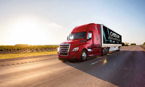 Production Starts on Freightliner Cascadia with Advanced Safety Solutions, Aerodynamic Enhancements