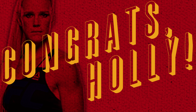 Holly Holm's Victory