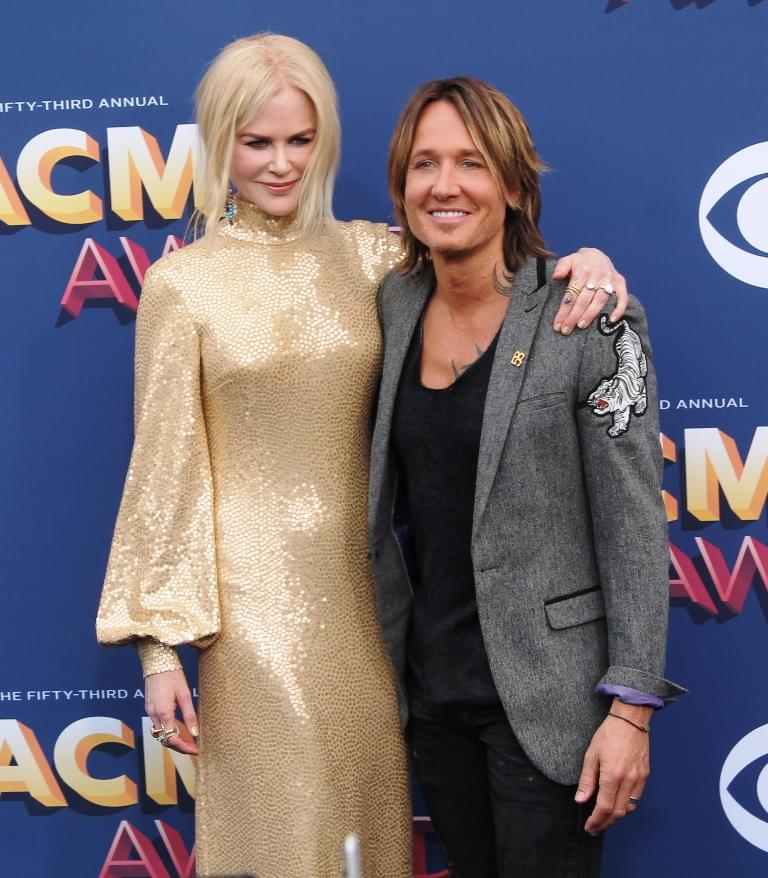 Keith Urban's Traveling Family
