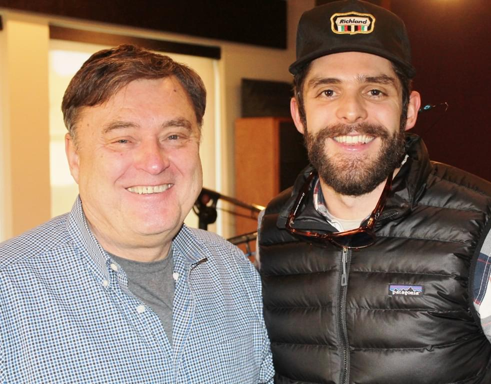 Thomas Rhett Is A Sneakerhead!