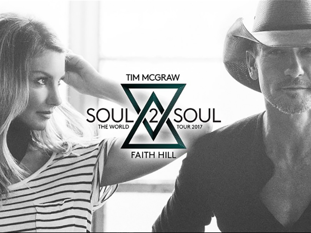Tim McGraw and Faith Hill Slay Hometown Crowd at Ryman and Announce Soul2Soul Tour