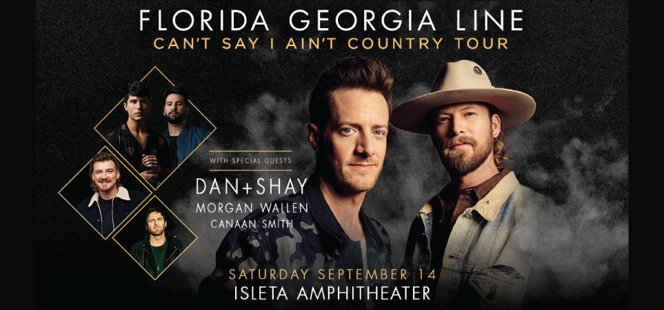 Florida Georgia Line with Dan + Shay, Morgan Wallen and Canaan Smith