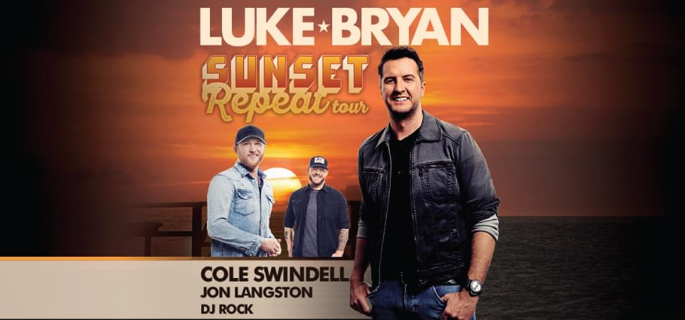Luke Bryan Sunset Repeat Tour