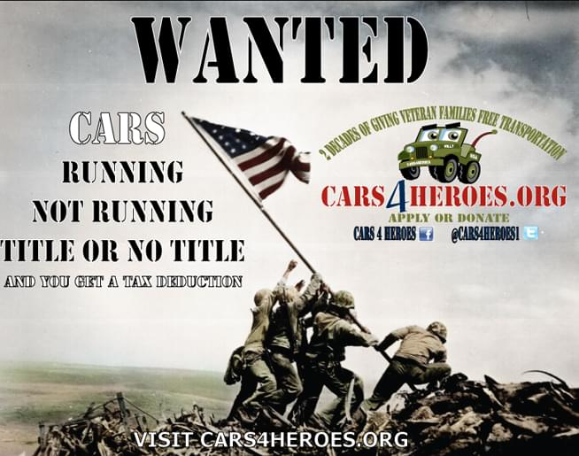 Cars 4 Heroes – CARS WANTED!