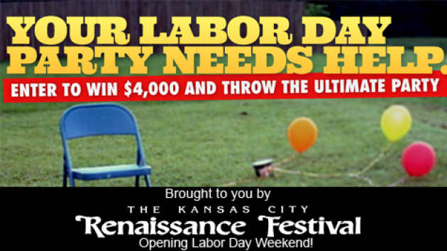 Win $4,000 for the Ultimate Labor Day Party!