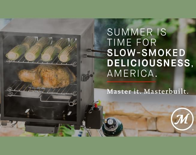 Win a Masterbuilt Portable Propane Smoker for the 4th of July!