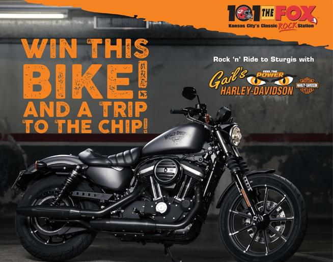 Rock n' Ride OFF a NEW Harley Iron to Sturgis