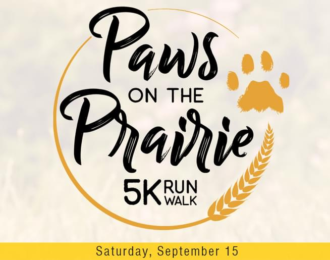 Paws on the Prairie 5k Run/Walk
