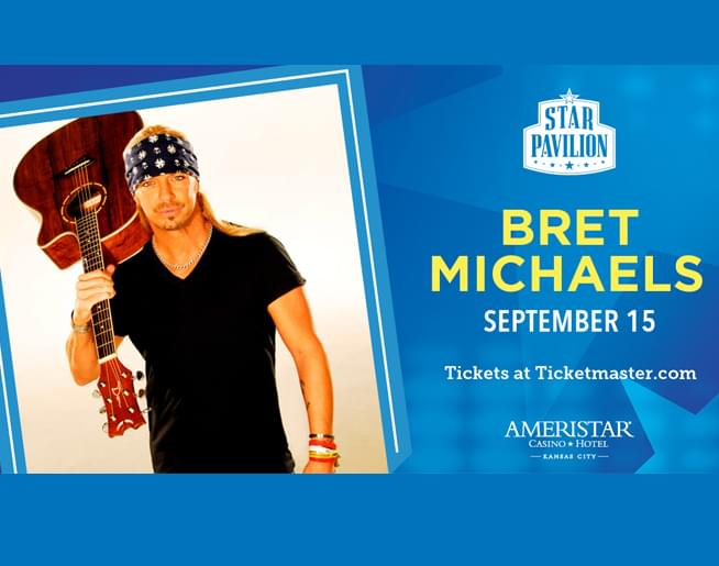 Bret Michaels Live At Ameristar On September 15th