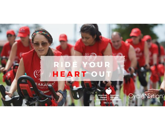 American Heart Association's CycleNation – October 4