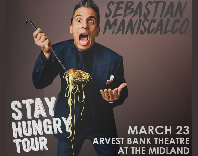 Sebastian Maniscalco – Stay Hungry Tour – March 23
