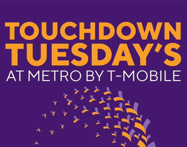 Win Chiefs Tickets at Touchdown Tuesday's with Metro by T-Mobile