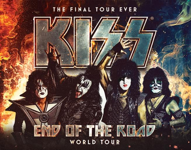 KISS at Sprint Center on February 27