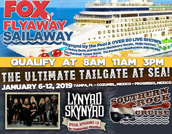 WIN your way onto the Southern Rock Cruise!
