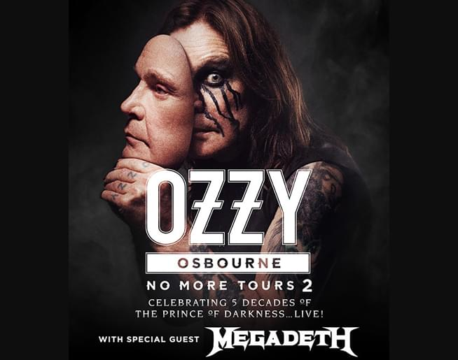 RESCHEDULED! Ozzy Osbourne No More Tours 2 – Now on June 26th, 2020