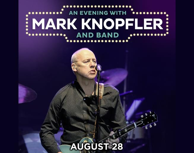 Mark Knopfler Live On August 28th At The Midland