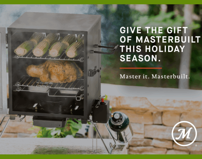 Win a Masterbuilt Smoker this Holiday Season!