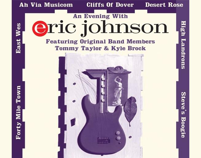 Eric Johnson at the Madrid Theatre on January 19th