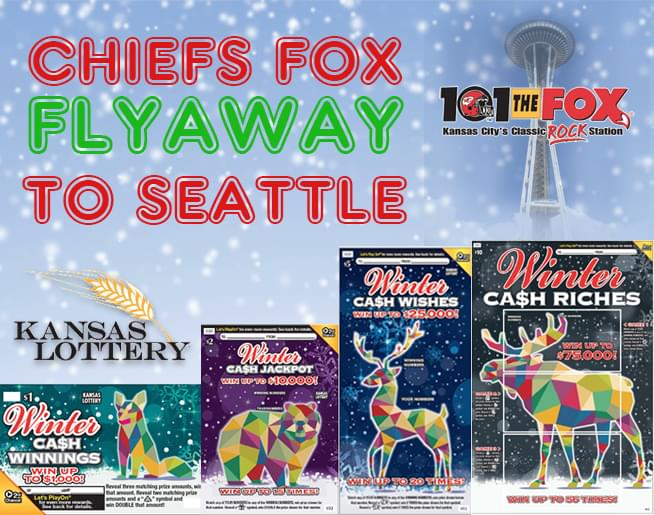 Win the Chiefs Fox Flyaway to Seattle!