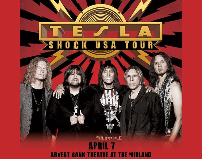 101 The Fox Presents Tesla LIVE at The Midland!