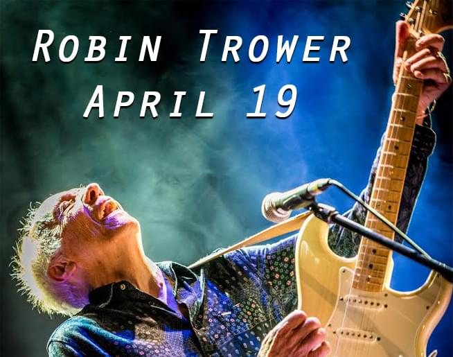 Robin Trower LIVE at Voodoo Lounge on April 19