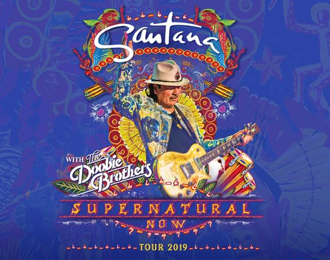 101 The Fox Presents Santana Live At Sprint Center On July 11th