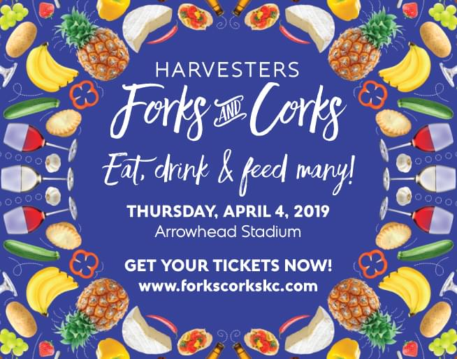Forks & Corks – Thursday, April 4th at Arrowhead Stadium