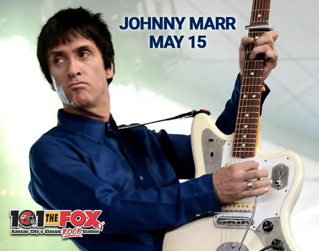 101 The Fox Welcomes Johnny Marr To Harrah S Voodoo Lounge On May 15th