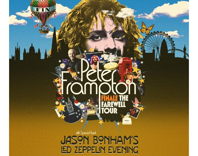 Peter Frampton at Starlight Theatre on August 5