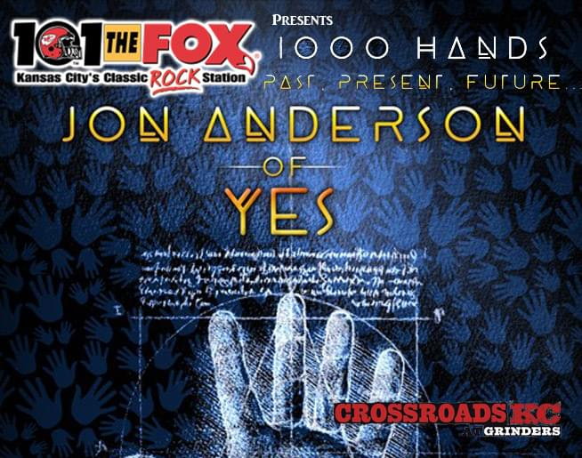 Jon Anderson – May 4th at Crossroads